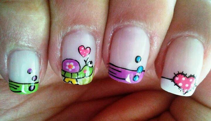 Decoración de uñas #AndryRegiino