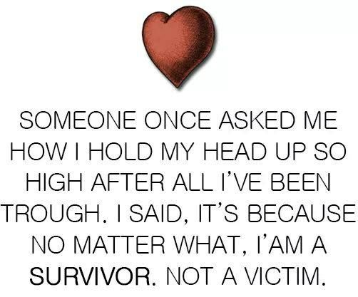I am no longer ashamed of what I've done in response to #ChildAbuse. Instead, I am proud of what I've overcome as a #survivor