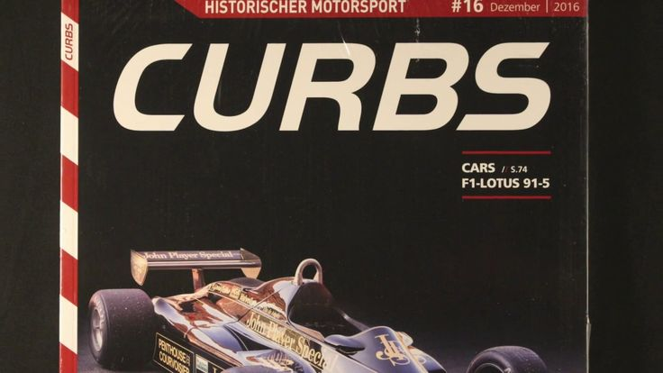 CURBS Magazin - historischer Motorsport - F1 - Lotus 91-5