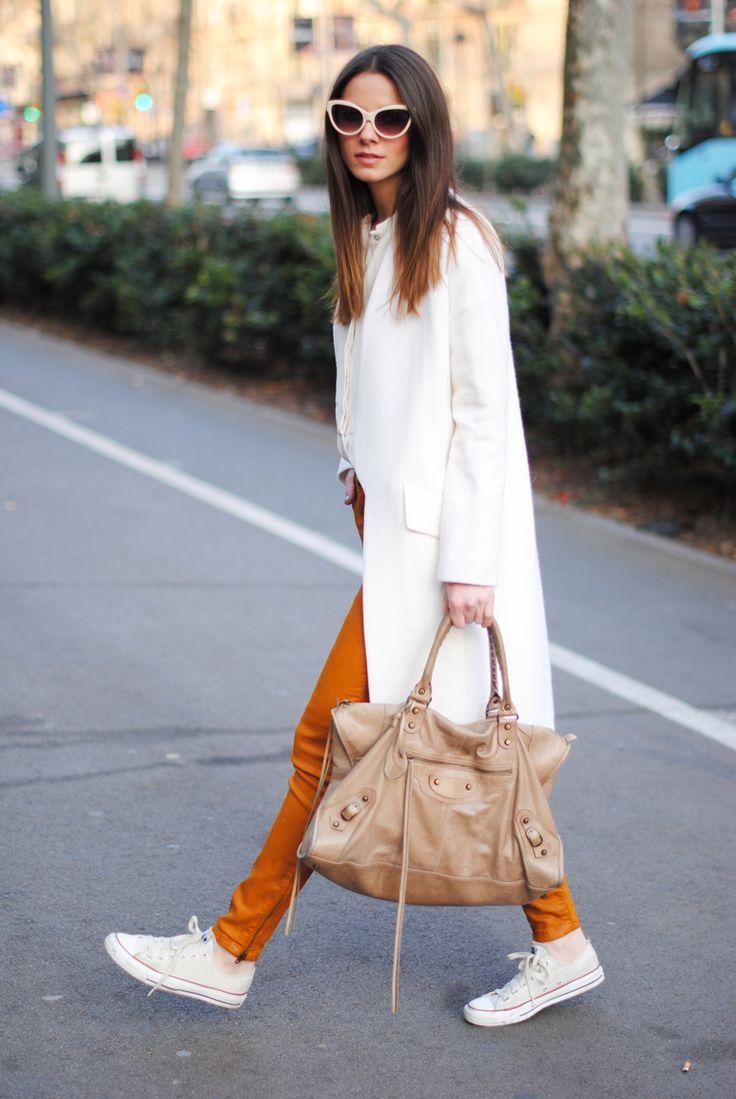 white & marigold