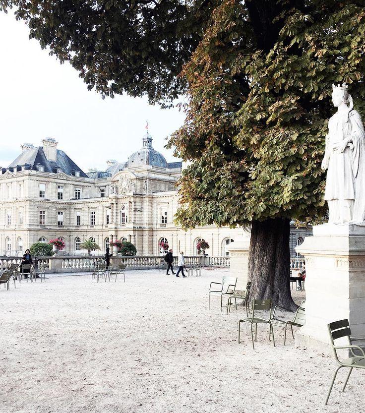 Carin Olsson: Jardin du Luxembourg, Paris