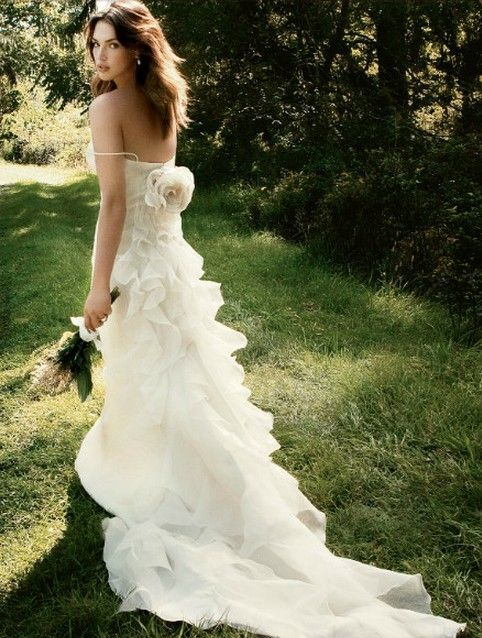 Carmen Marc Valvo 2012 summer wedding dresses