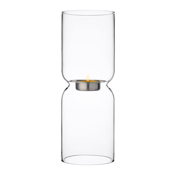 Lantern candleholder 250 mm, clear