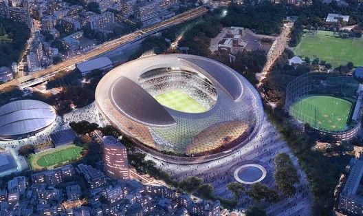 Proiectele finaliste in concursul pentru Stadionul National al Japoniei