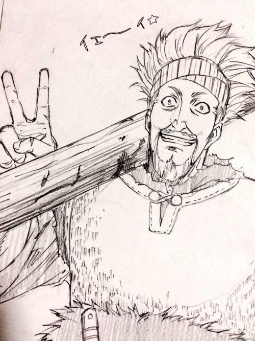 #illustration #dessin #croquis #VinlandSaga #Thorkell