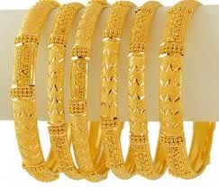 pakistani gold bangles - Google Search