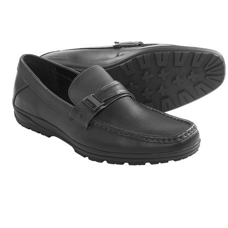 Calvin Klein Quinlan Leather Loafers (For Men)