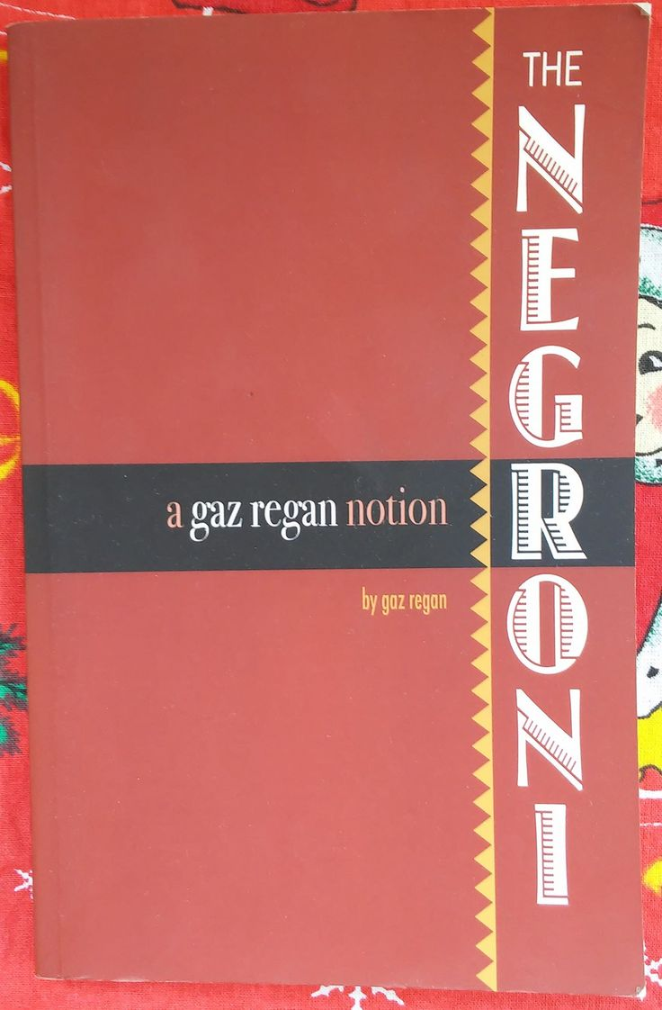 Negroni by Gary Regan