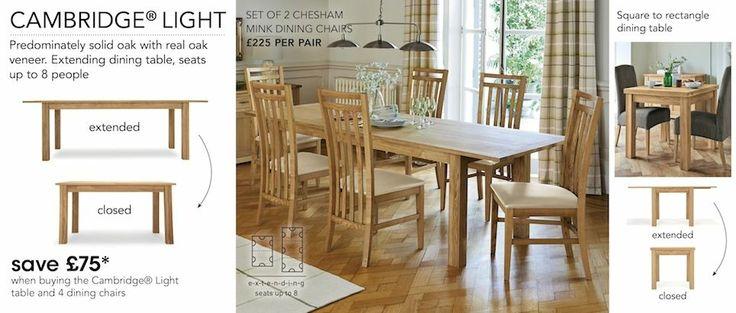 Seats 8 Coordinates with Camebridge lounge furniture