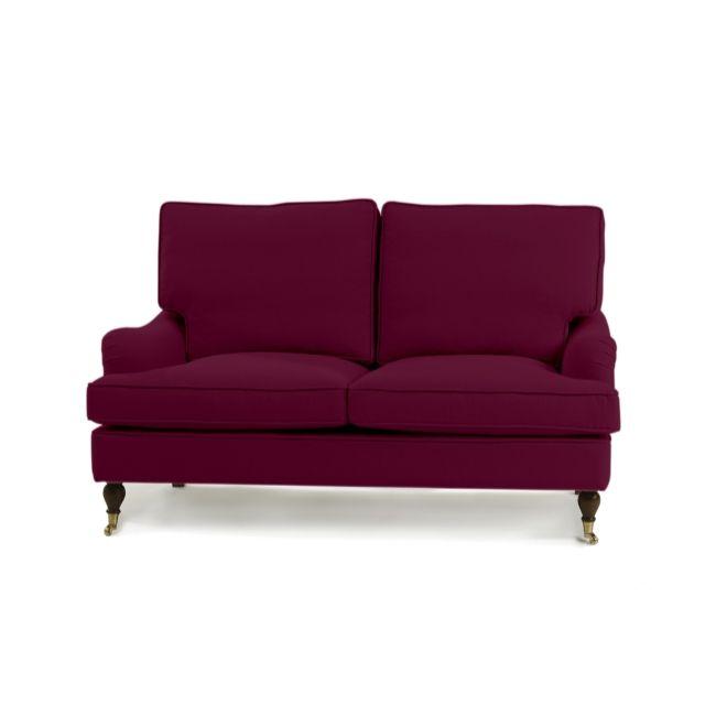 Howard 2-sits soffa Made to order - Aubergine Monfort 14K #soffor #howard