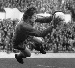 Ray Clemence, Liverpool FC, England. Was also goalkeeper at Scunthorpe United, Tottenham Hotspur and the English national team.