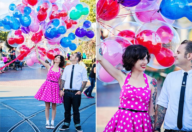 I heard if you ask to hold the balloons they don't say no. This is a definite MUST DO :)