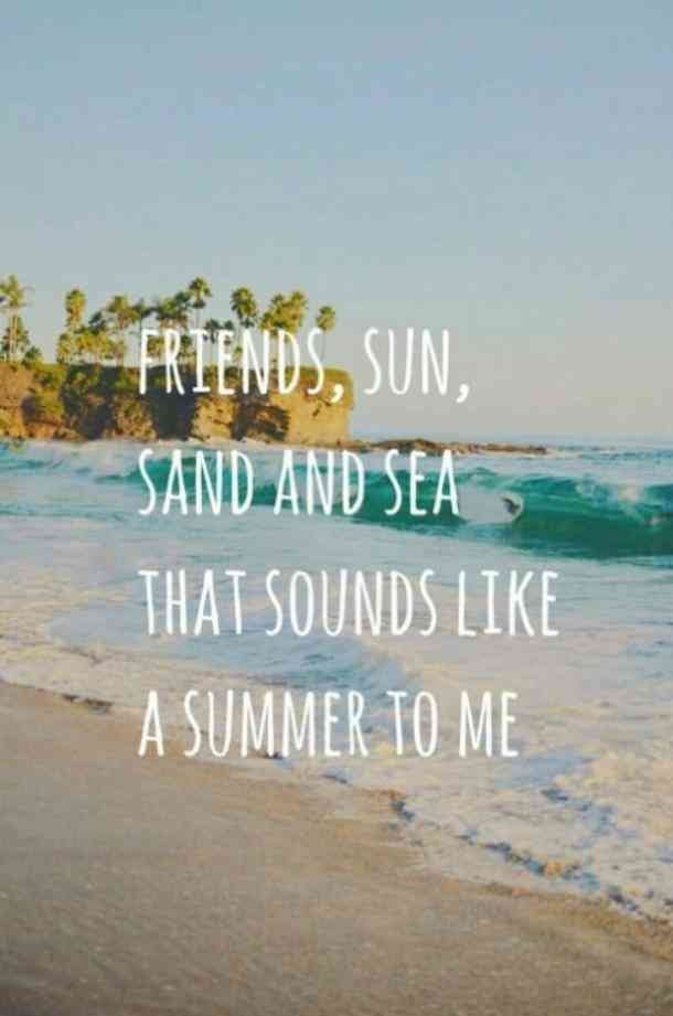 10 Best Friend Quotes To Get Your Squad Pumped Up For Summer Beach Captions Beach Quotes Friends Quotes