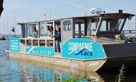 La Compagnie des Lacs à Biscarrosse : Croisières dans un cadre naturel d'exception: #BISCARROSSE 21.00€ au lieu de 33.00€ (36% de réduction)