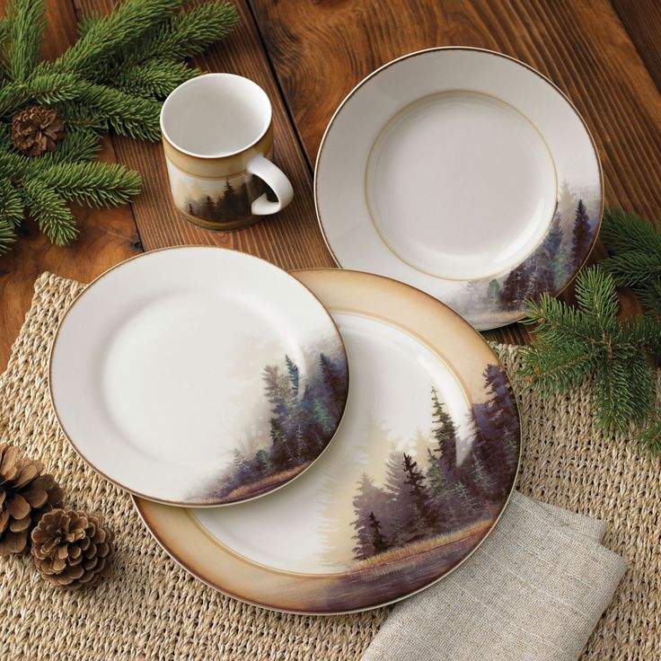 Best 25 Rustic Dinnerware Sets Ideas On Pinterest