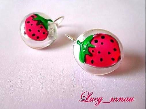 lucy_mnau / Náušničky jahôdky :)