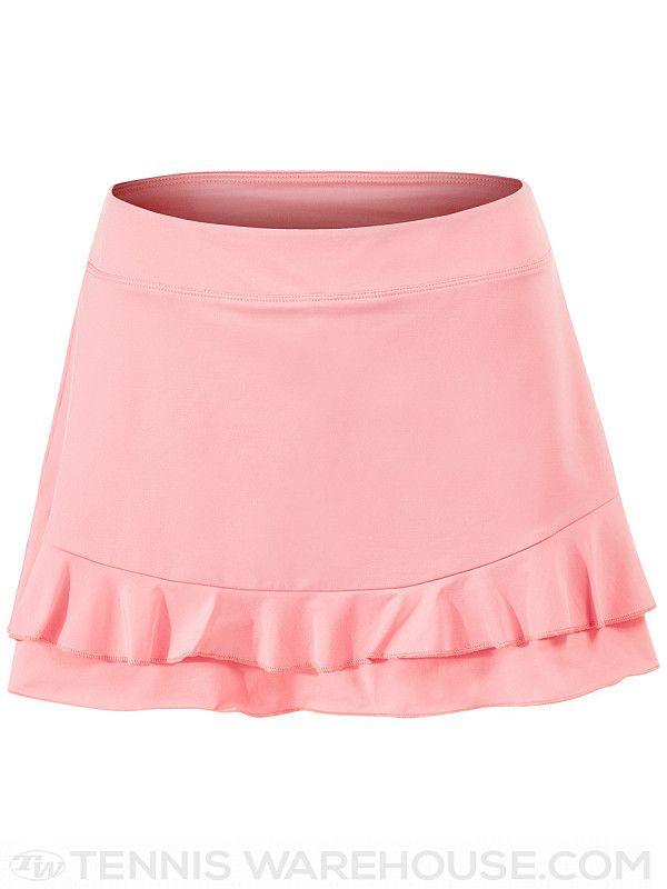 96e84f4962fcd9 Fila Women's Spring Double Ruffle Skirt | birdie | Ruffle skirt, Double  ruffle, Waist skirt
