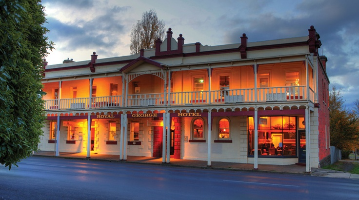 Beautiful buildings from the goldrush era still stand and operate in Kyneton from www.secretsmagazine.com.au