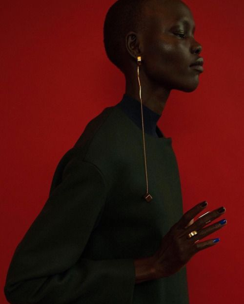 tomboybklyn: LOVE!!… Grace Bol for Paula Mendoza Jewelry F/W...