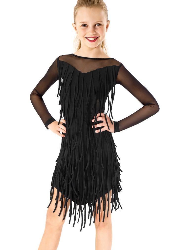 Gio Mio Meluka Girls Dress GM0848| Dancesport Fashion @ DanceShopper.com