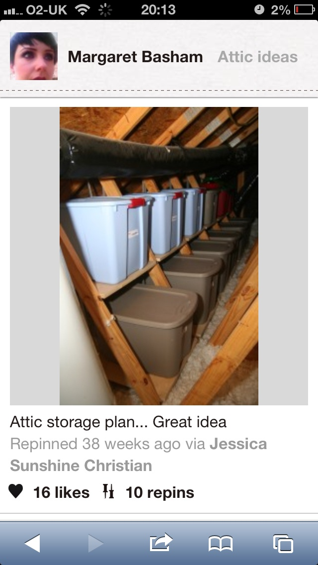 Attic Storage