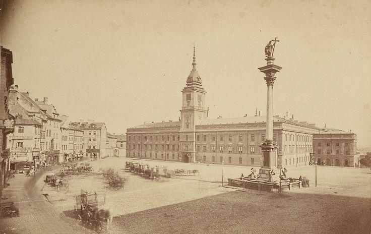 Plac Zamkowy 1871  http://warszawawpigulce.pl/mamy-dlas-prawdziwa-perelke-nieznane-zdjecia-warszawy-z-1870-roku/