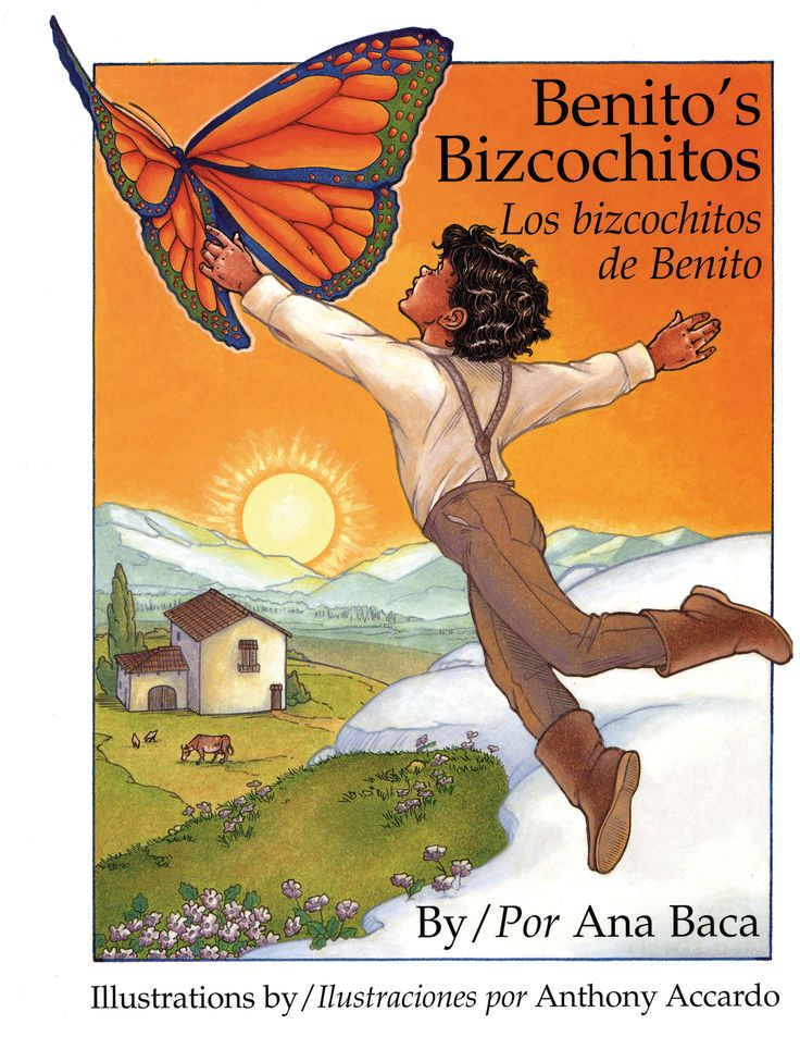 Many Children —and quite a few grown-ups — know the delicious taste of bizcochitos the official ''state cookie'' of New Mexico. Ana Baca shares the secret of how the bizcochito first came to be in this charming fable, which includes a bizcochito recipe.