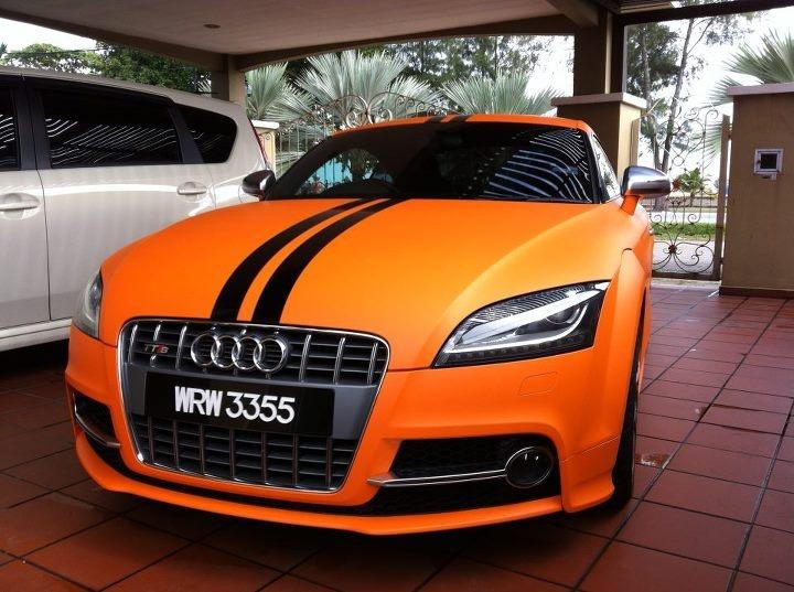 Matte Orange Audi Tt Audi Obsession Pinterest Audi