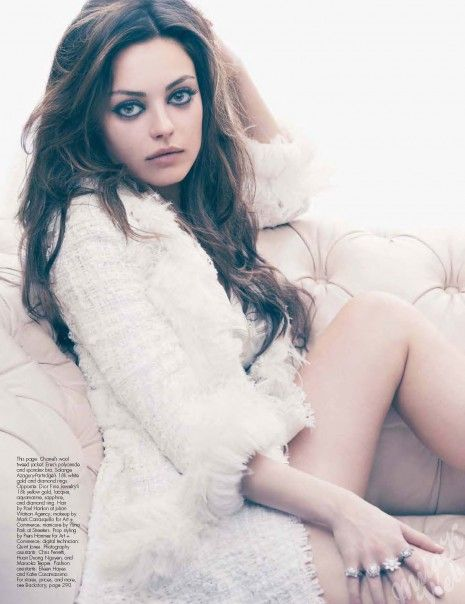 Mila Kunis...my girl-crush