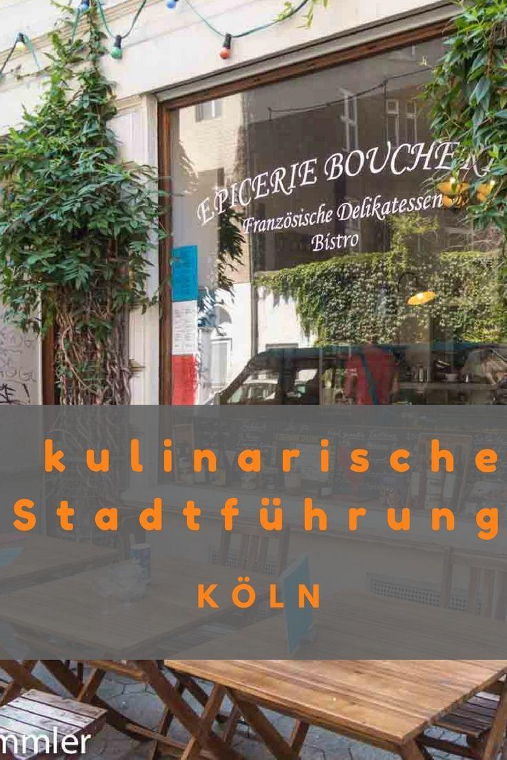 Eine kulinarische Stadtführung im Kölner Severinsviertel - sehr zu empfehlen Deutschland NRW