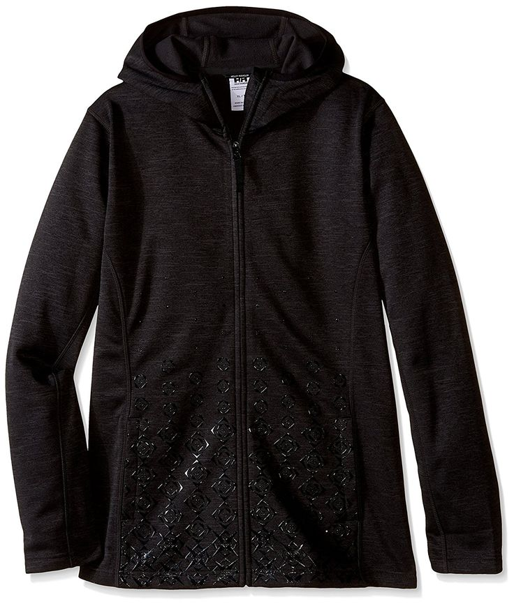 Helly Hansen Women's Graphic Fleece Hoodie, Ebony, Medium >>> This is an Amazon Affiliate link. Click image for more details.