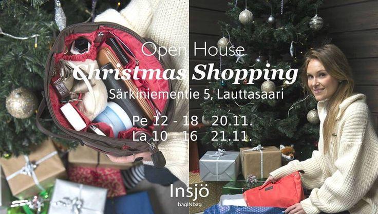 Open house for #Christmas #shopping