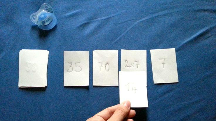 Imparare le tabelline 5