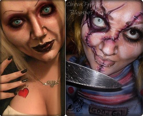 Female Chucky and Tiff The Doll