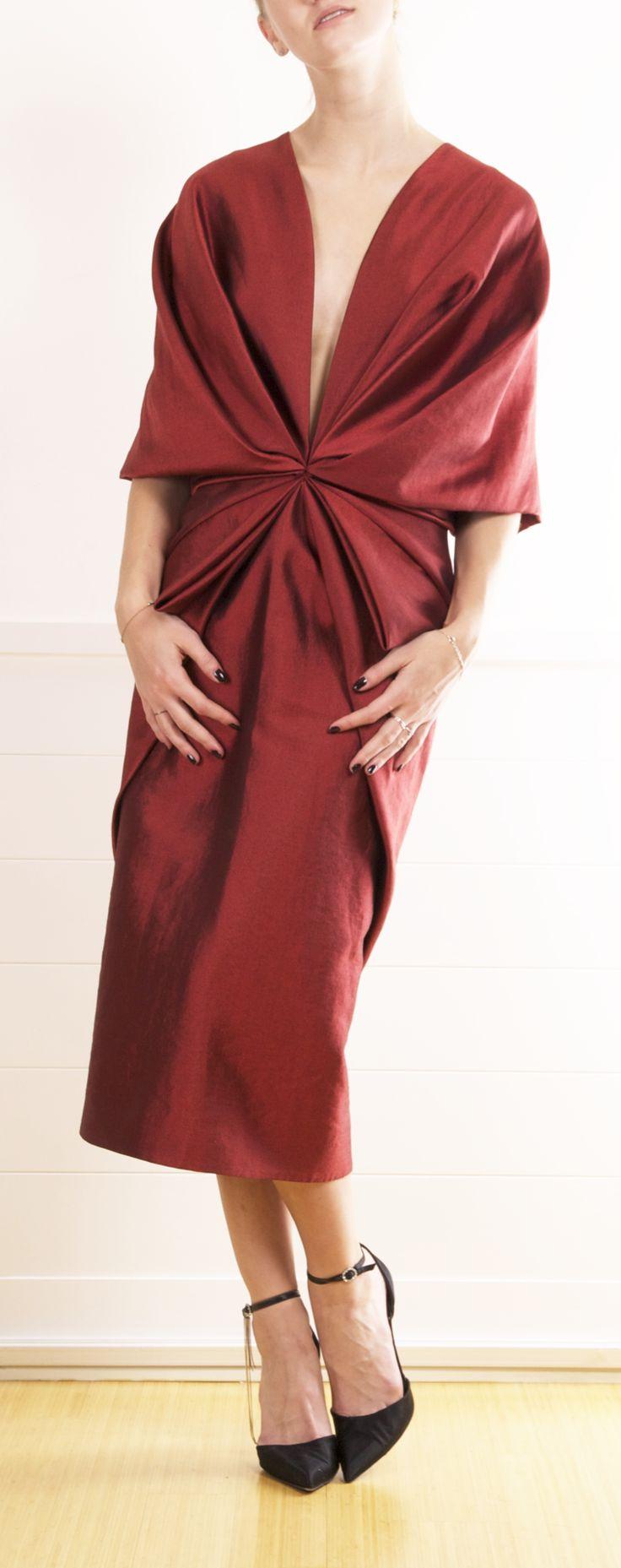 Imagini pentru heider akermann draped dress