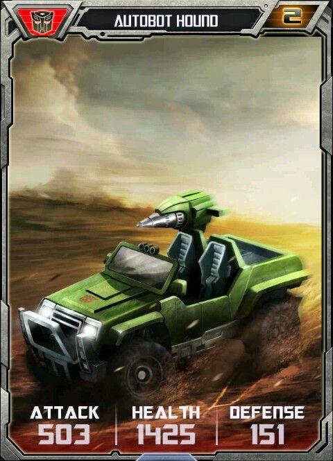 Hound autobot card