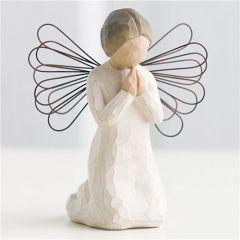 Dua Eden Melek   Angel of Prayer - Sanatçı Susan Lordi tarafından tasarlanan bu figüratif heykeller, vücut hareketleri yoluyla duygularınızı en güzel şekilde ifade edecekler... Ölçüler: 13 cm