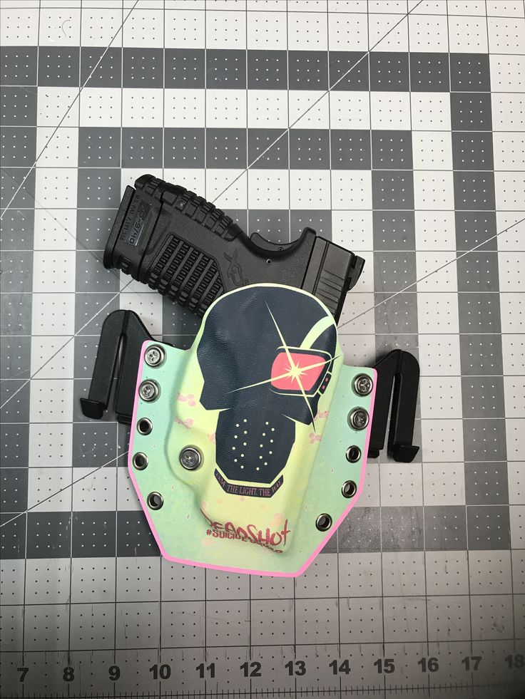 Springfield XDs 9mm in our custom Deadshot holster.