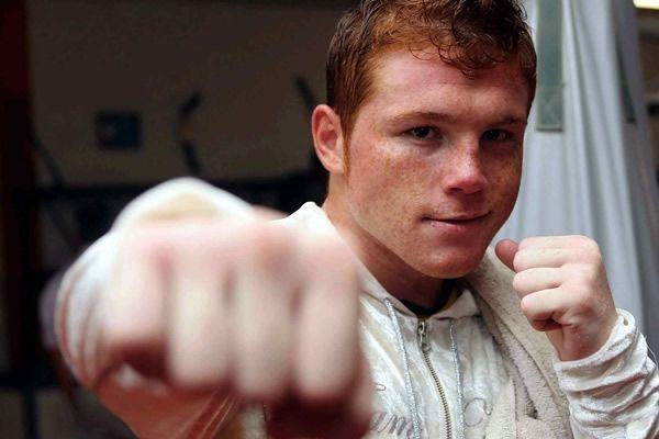 Canelo Alvarez -Undefeated Mexican boxer.