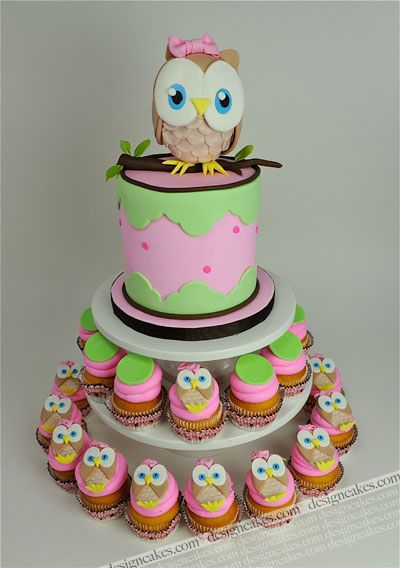 nike shoes new model 2015 Owl first birthday cake by Design Cakes via Flickr  Kids fun cakes