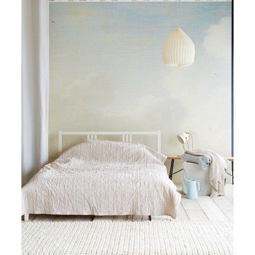 Eijffinger Masterpiece Dutch Sky Stripes Bleu 358120 at Wallpaperwebstore