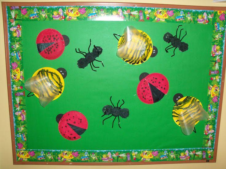 Butterfly Classroom Door Decorations ~ Insects bulletin board bug kindergarten