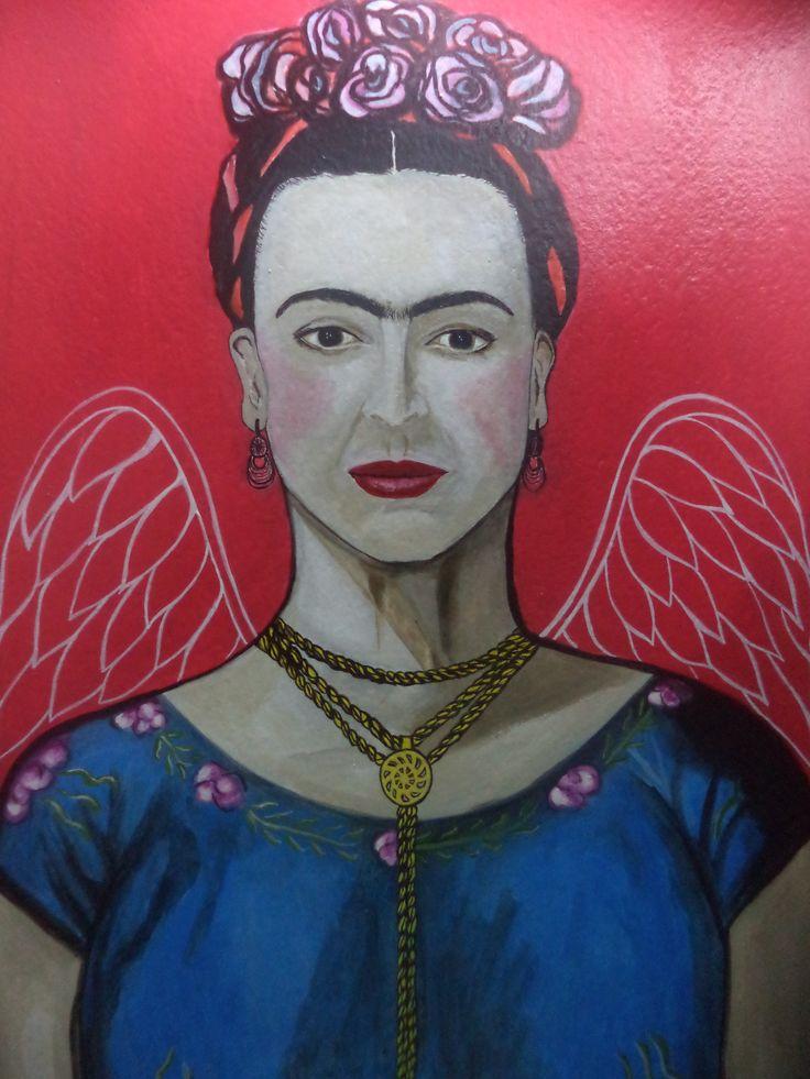 Frida e suas asas  by Alê Vilaverde