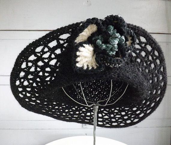 Etsy shop https://www.etsy.com/uk/listing/254390981/black-wire-brimmed-ladies-hat-wide