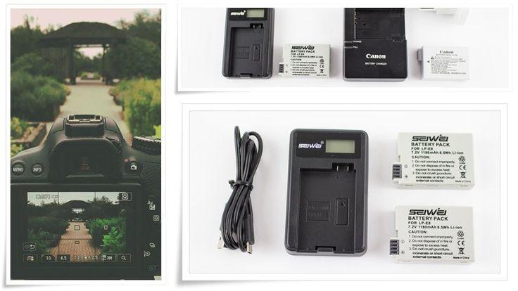 Akku für CANON EOS 700D Spiegelreflexkamera