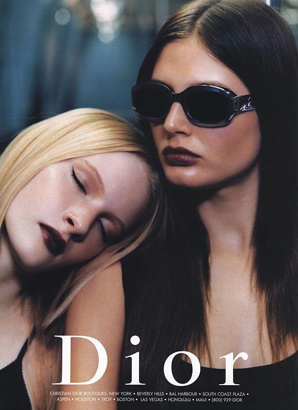 Dior campaign, 1990′s.