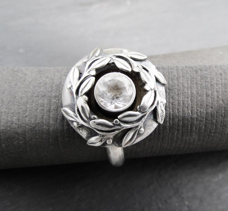 Wreath Memorial Urn Ring by WispAdornments on Etsy https://www.etsy.com/listing/230280677/wreath-memorial-urn-ring
