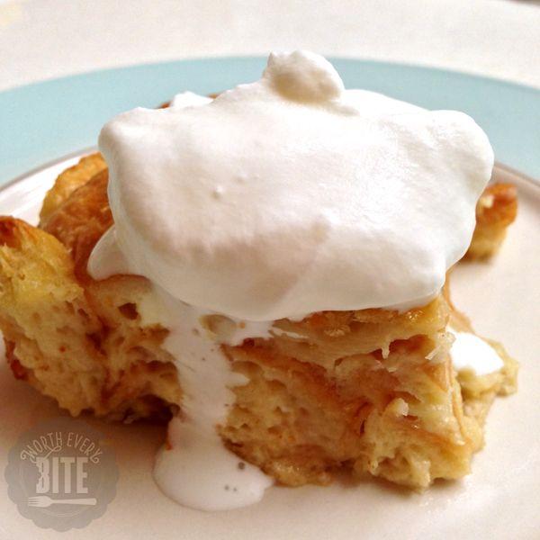 Croissant Bread Pudding Recipe | Desserts-Puddings, Pies & Ice Cream ...