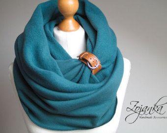 Círculo de la bufanda bufanda Infinity multicolores con
