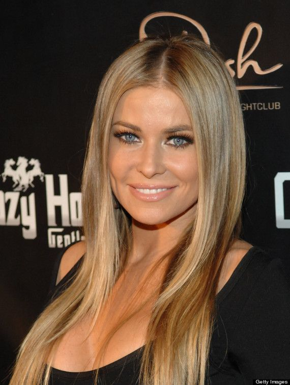 carmen electra hot hair